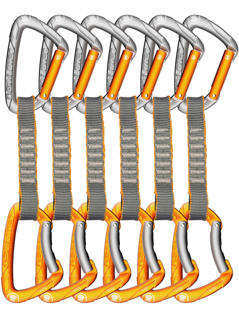 Skylotec Flint Express STD Quickdraw Set 11cm 6 Pieces light grey/orange